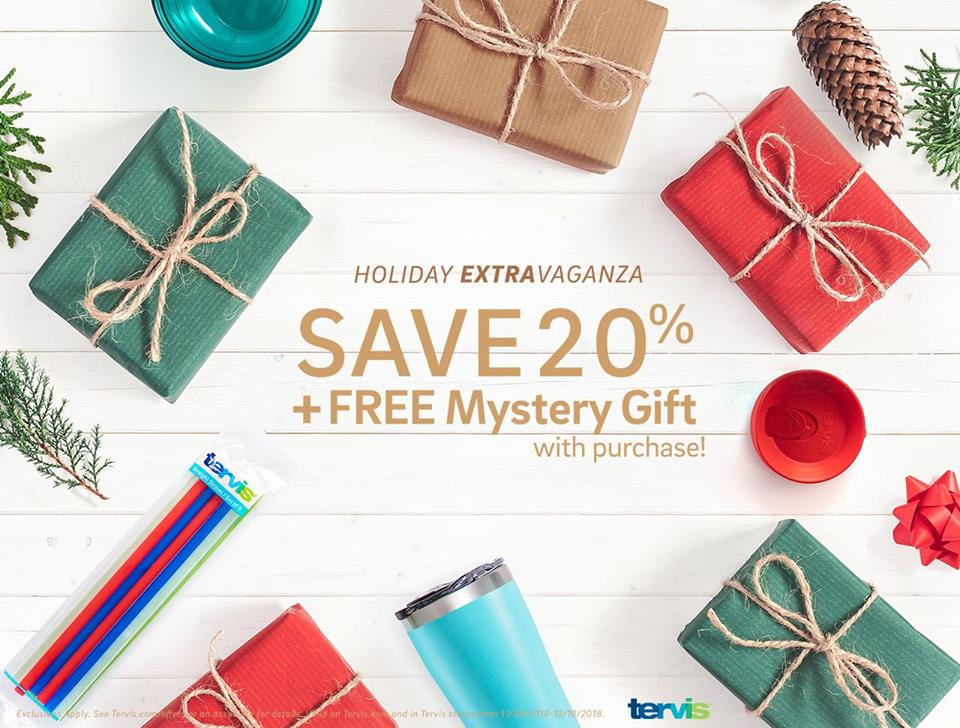b7fdbf0fd52 We've seen mystery offers for an additional 10% off your entire purchase, a  free Holiday Tumbler with a $20 ...