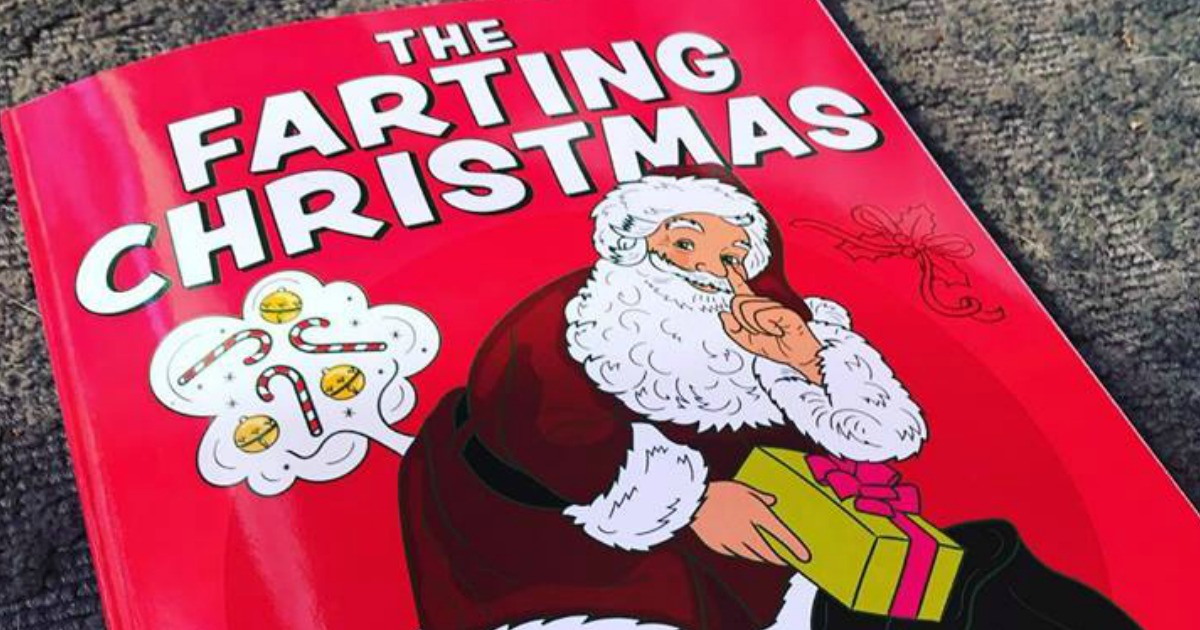 last-minute deals great gifts – The Farting Christmas coloring book