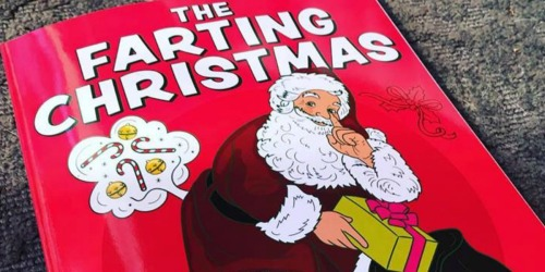 Save on Farting Coloring Books at Amazon (Funny Stocking Stuffers)