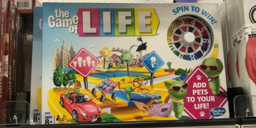 Up to 55% Hasbro Board Games at Amazon | Game of Life, Monopoly & More