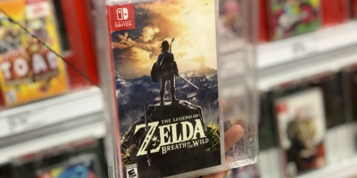 The Legend of Zelda Breath of the Wild Nintendo Switch Game Only $45 Shipped on Walmart.com