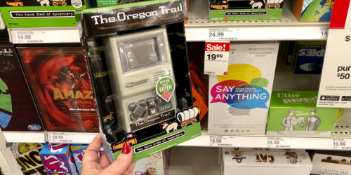 The Oregon Trail Handheld Game Only $19.99 Shipped (Regularly $25)