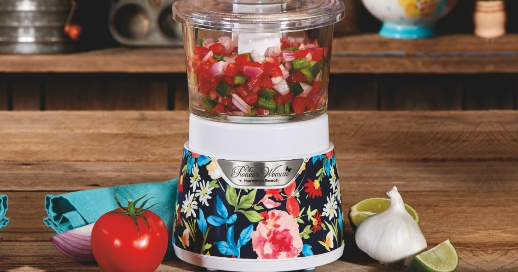 The Pioneer Woman Glass Bowl Chopper Only $19 88 (Regularly