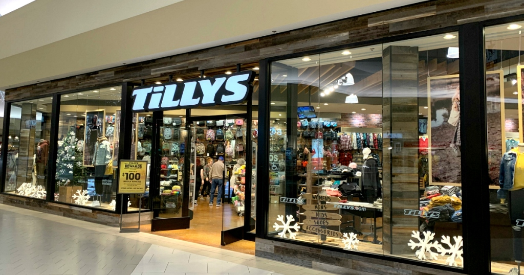 Tillys store front