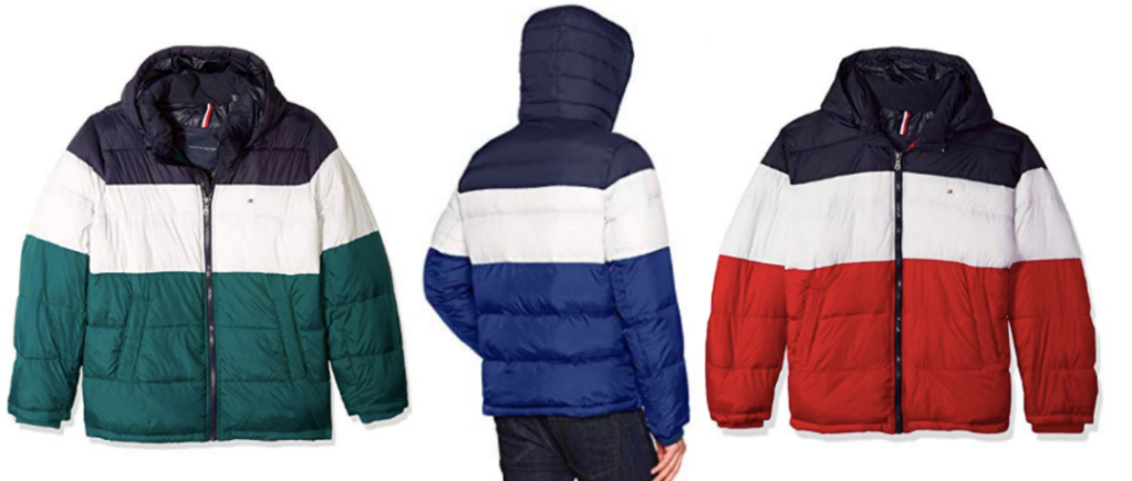 5a39841d Tommy Hilfiger Men's Classic Hooded Puffer Jacket Only $58.99 shipped  (regularly $79.99)