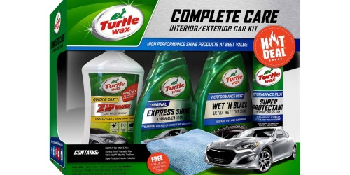 Turtle Wax Car Care Kit Just $10 at Walmart (Regularly $25)