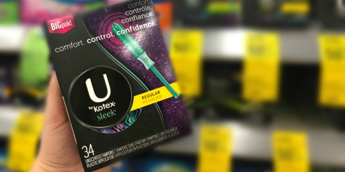 Select U by Kotex Sleek Tampons Being Recalled (Check Your Stash!)