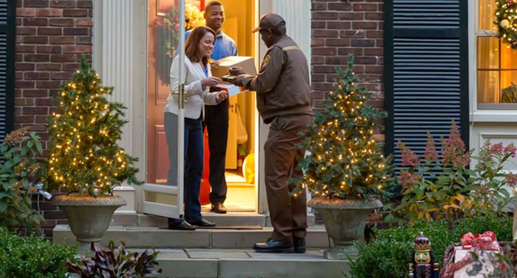 UPS holiday shipping