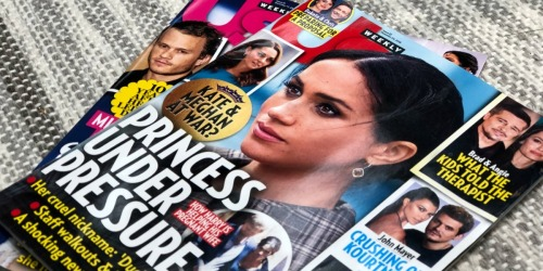 Us Weekly Magazine Subscription Only $9.95 Per Year (Just 19¢ Per Issue)