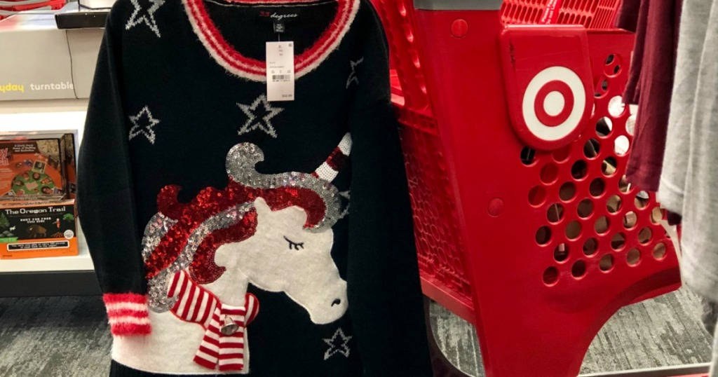 40 Off Ugly Sweaters Tees At Target In Store Online A