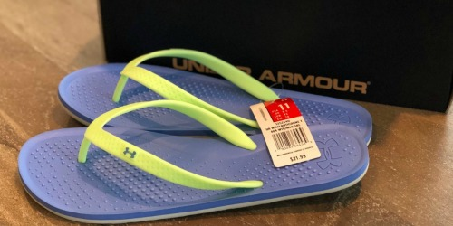 50% Off Under Armour Women's Slides, Hoodies & More + Free Shipping