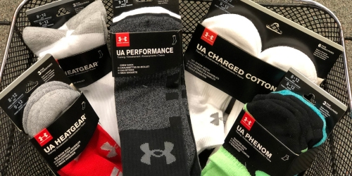 Nice Deals On Men's Under Armour Socks + FREE Shipping For Kohl's Cardholders