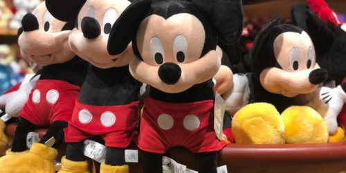 50% Off Disney Plush Characters (Until 3PM PST Only)