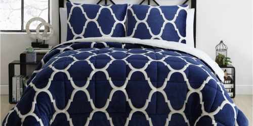 Kohl's: 3-Piece Reversible Comforter Sets Only $52.49 Shipped (Regularly $240+) – ALL Sizes