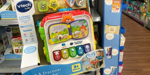 VTech Sort & Discover Activity Cube Only $14.88 at Walmart (Regularly $30)