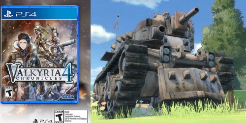Valkyria Chronicles 4 Launch Edition PlayStation 4 Game Only $28.45 Shipped (Regularly $60)