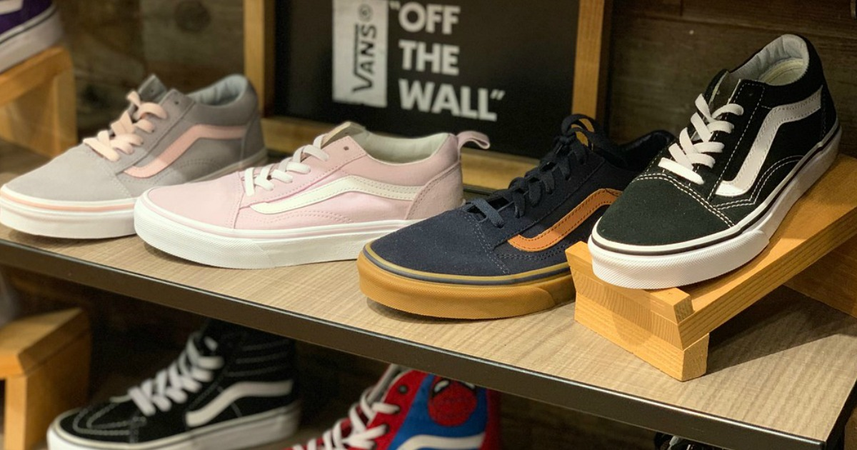 Vans Kids Shoes from $26 Shipped