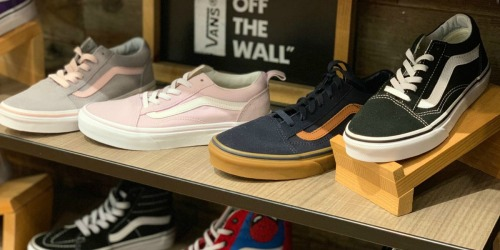 Up to 60% Off Vans Shoes + Free Shipping for Kohl's Cardholders