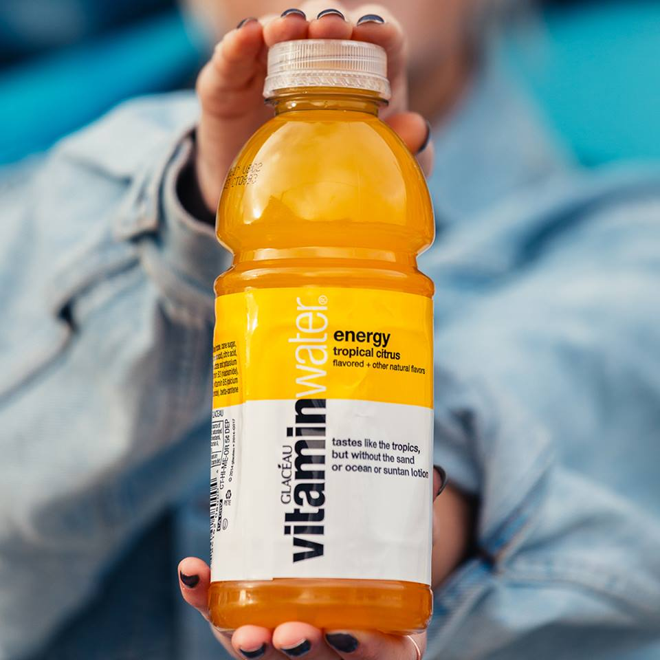 Vitamin Water Scroll Free for a Year Contest