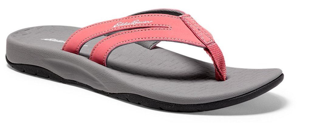 9d06687768aa Check out these deals… Eddie Bauer Women s Break Point Flip Flop Only  15  shipped (regularly ...