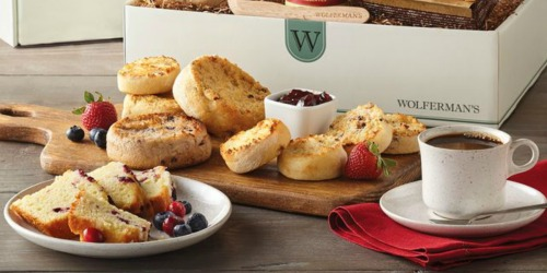 Wolferman's Berry Breakfast Box Only $24.99 Shipped (Includes English Muffins, Scones, Preserves & More)