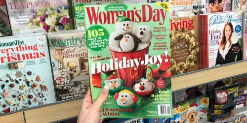 Up to 95% Off Magazine Subscriptions (Women's Day, People, The Pioneer Woman & More)