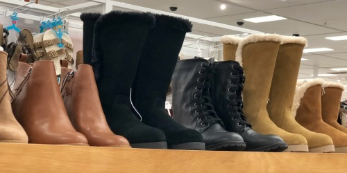 30% Off Women's Boots at Target + Free Shipping