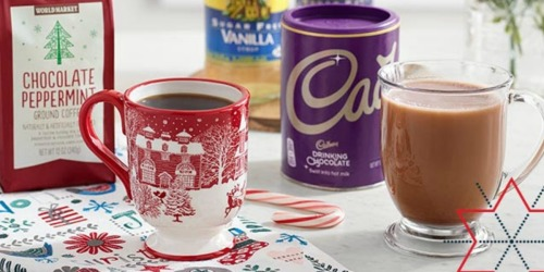 50% Off Cost Plus World Market Coffee & Torani Syrup