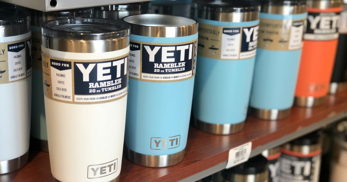 Rare 25% Off + Free Shipping at Dick's Sporting Goods = Great Buys on YETI Tumblers & More