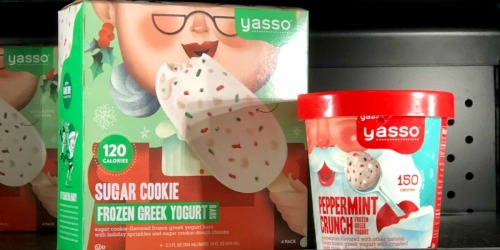 Yasso Holiday Frozen Yogurt Desserts as Low as $1.19 (Regularly $4+) at Target