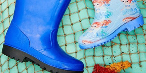 Kids Rain Boots Only $9.99 at Zulily