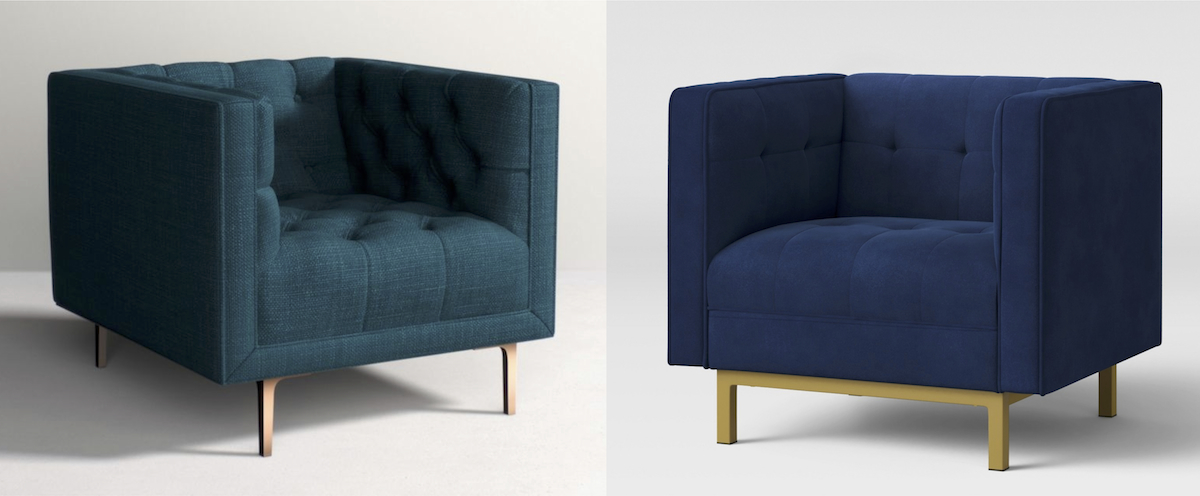 anthropologie copycat target walmart budget – anthropologie and target accent chairs