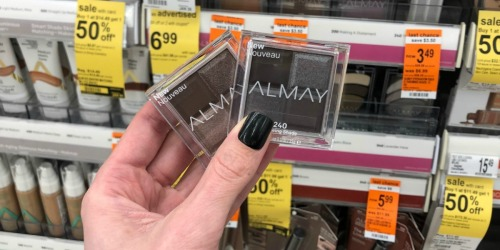Almay Eye Shadow Quads Possibly Only 62¢ Each at Walgreens + More