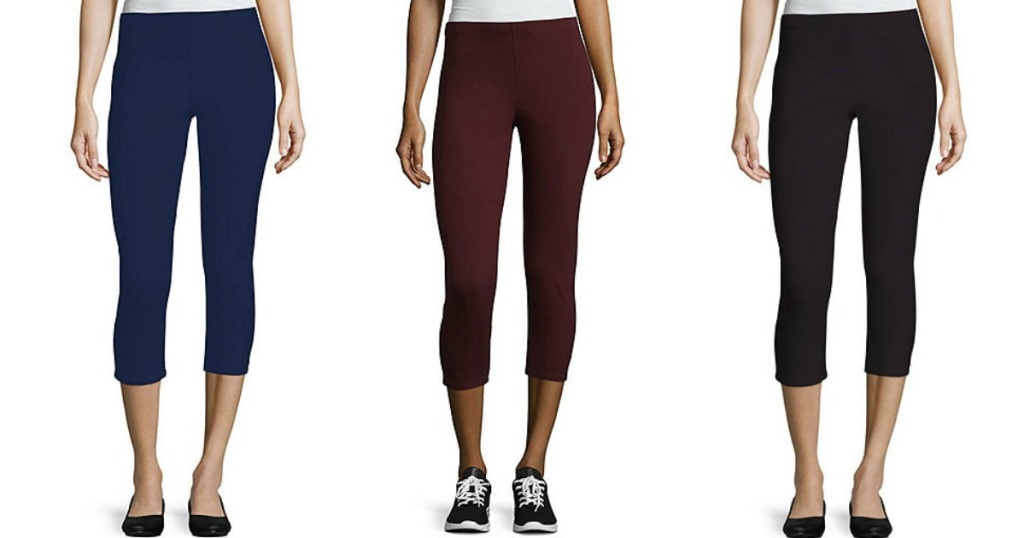 4c39745915fb4 Buy 1 Pair of Women's Pants or Jeans, Get 2 FREE at JCPenney - Hip2Save