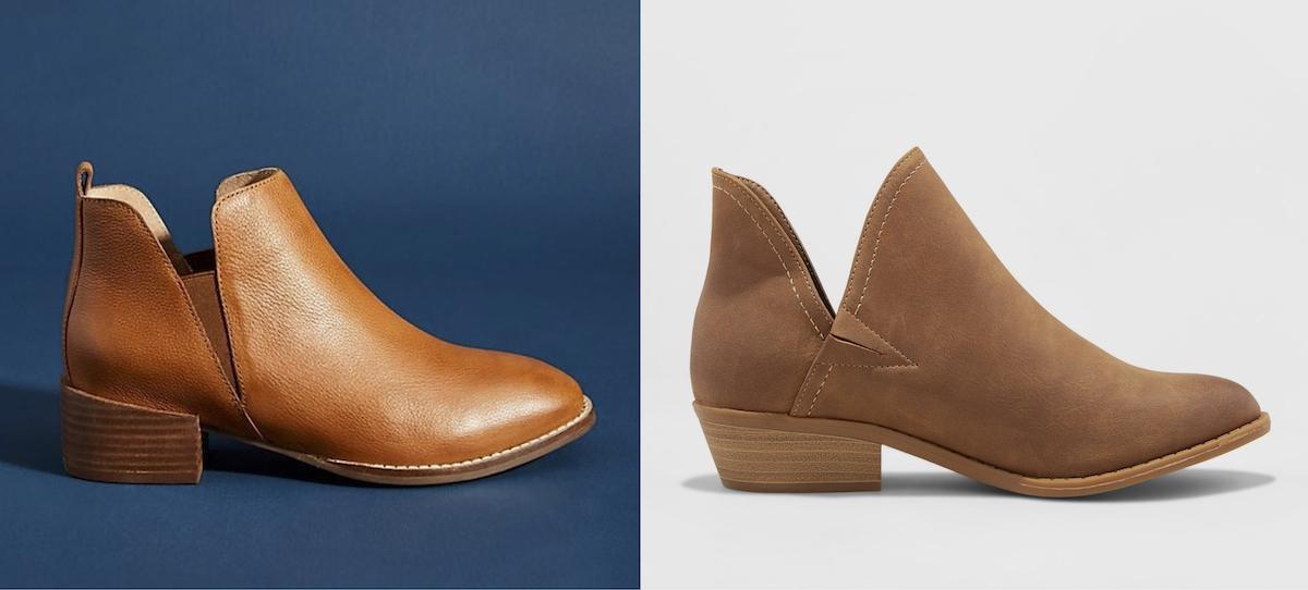 b166fecf09661 anthropologie copycat target walmart budget – anthropologie and target  ankle boots