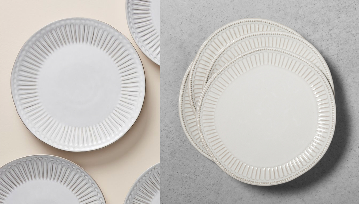 anthropologie copycat target walmart budget – anthropologie and target dinner plates