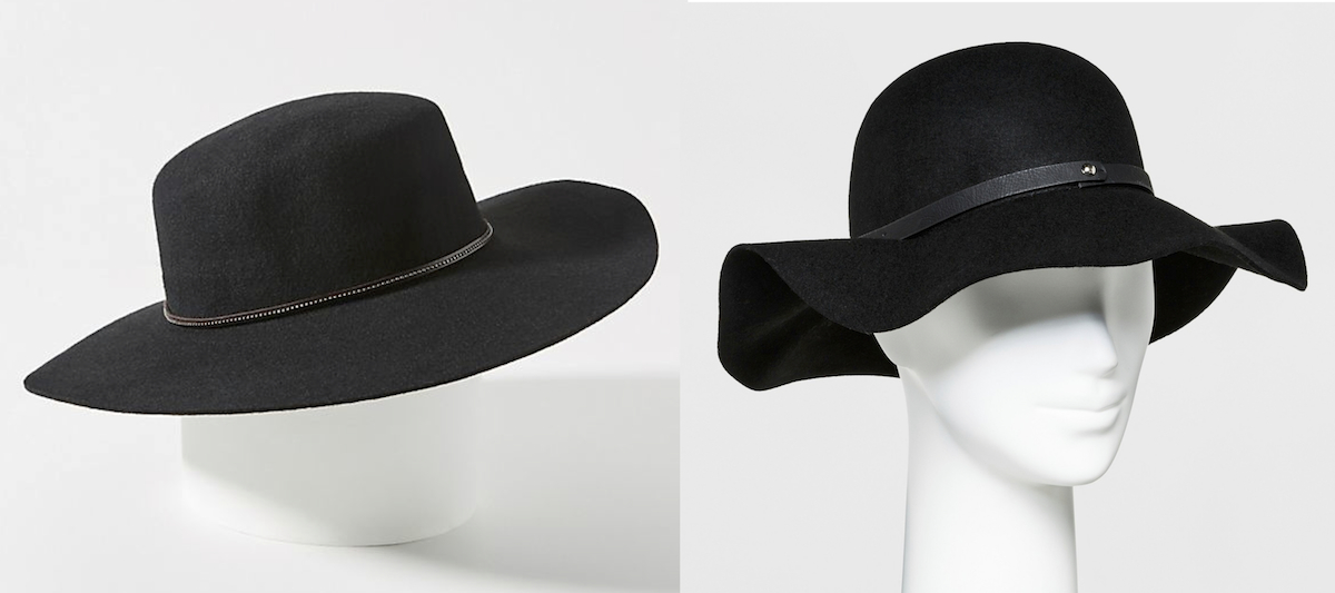 anthropologie copycat target walmart budget – anthropologie and target floppy hat