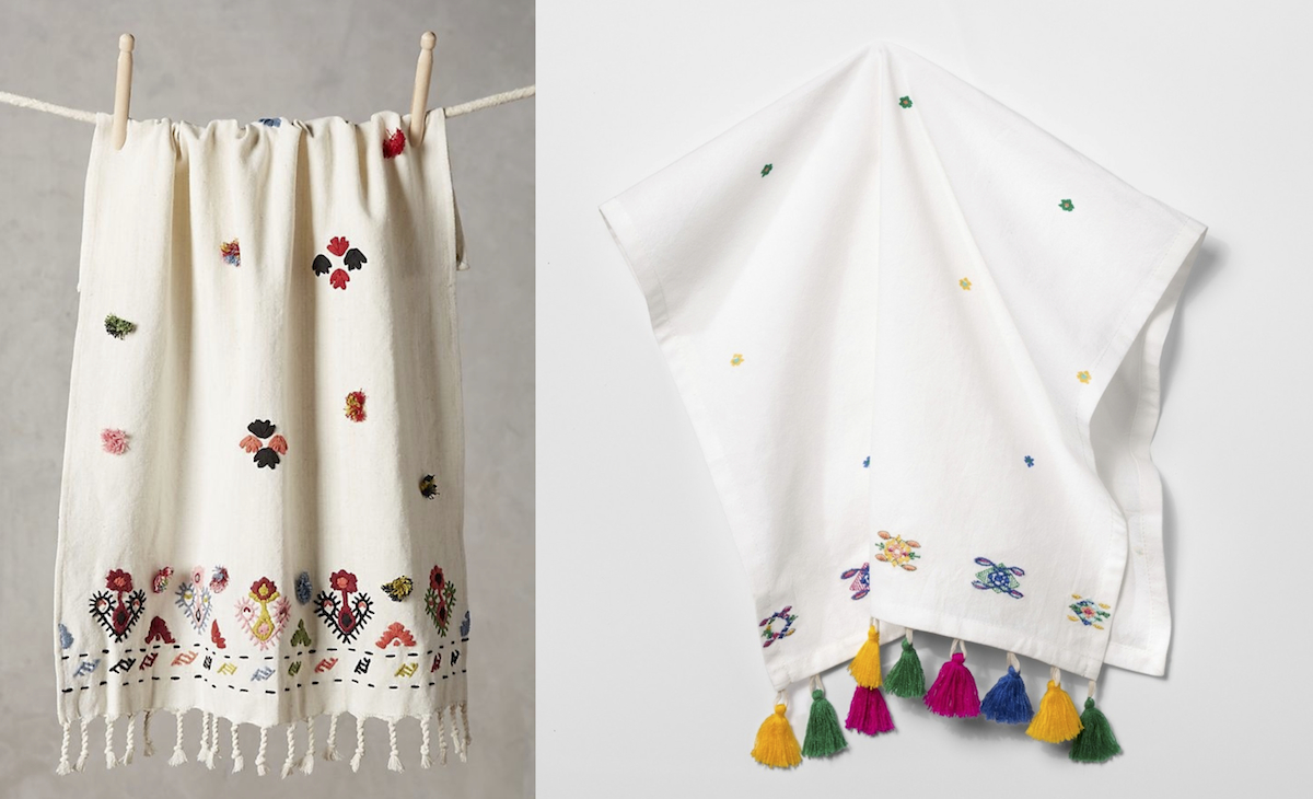 anthropologie copycat target walmart budget – anthropologie and target kitchen dish towels