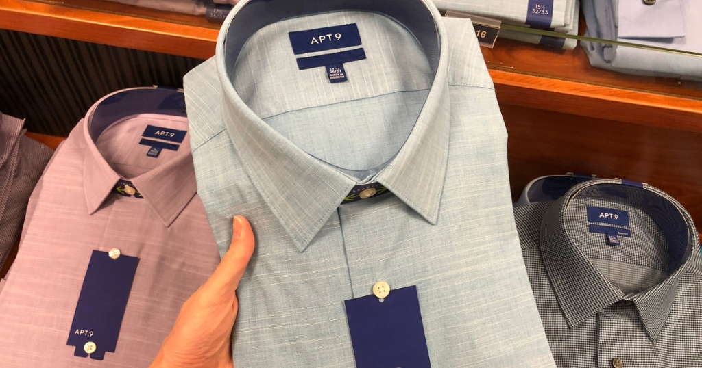 8c84b52b Head on over to Kohls.com where you'll find Men's Apt. 9 Slim-Fit Easy-Care  Dress Shirts on sale for ONLY $9.99 (regularly $32)! These wrinkle  resistant ...