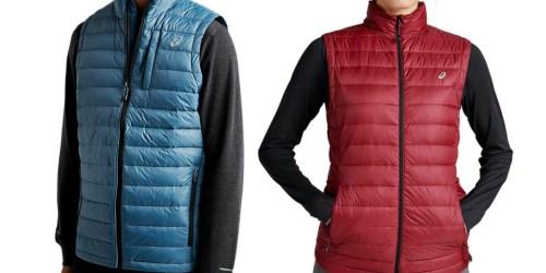 Asics Men's & Women's Puffer Vests Only $19.99 Shipped