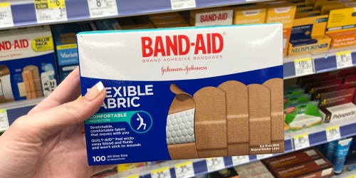 Band-Aid Adhesive Bandages 100-Count Only $5.53 Shipped on Amazon