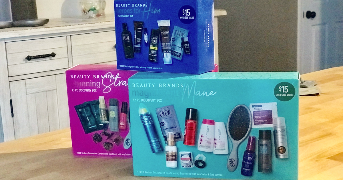 Beauty Brands Discovery Boxes as Low as $8.64 Each Shipped ($100 Value)