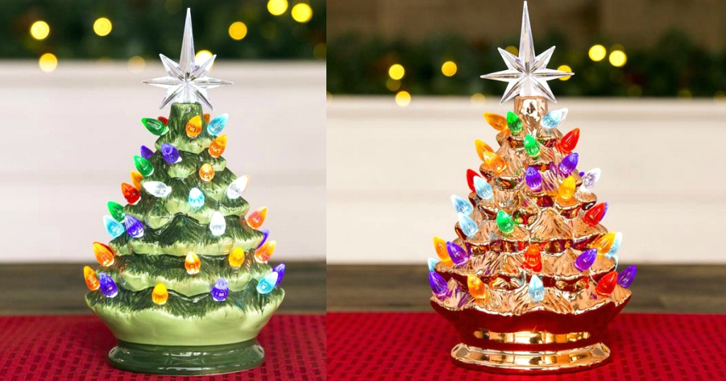 best choice products vintage christmas trees