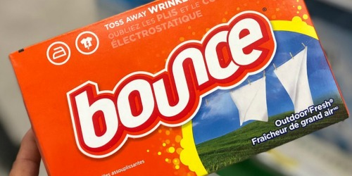 Amazon: Bounce Fabric Softener Sheets 240-Count Box Only $3.54 Shipped