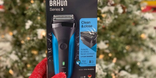Up to 50% Off Braun Men's Rechargeable Shavers After Rebate on Amazon