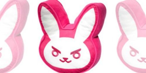 Overwatch D.Va Bunny Pillow Just $7.50 at GameStop (Regularly $15)