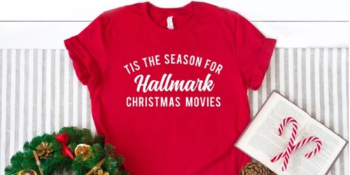 Cute Christmas Tees Just $15.99 Shipped