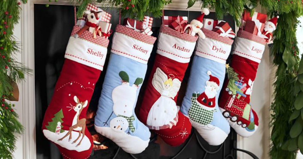 50 Off Pottery Barn Christmas Stockings Free Shipping
