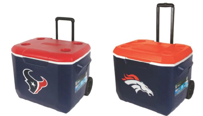 Dicks Sporting Goods Up To 50 Off Nfl  Ncaa 60-Quart Coleman Coolers - Hip2Save-8890