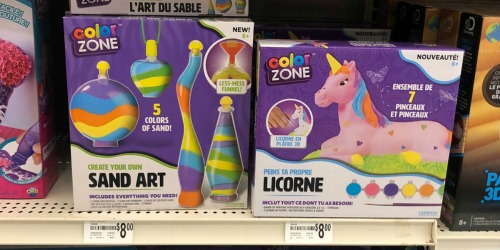 Color Zone Kids Art Sets Only $1.80 at Michaels (Regularly $8)